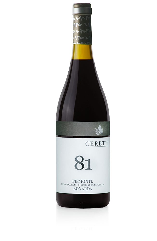 81 <br/>Piemonte DOC <br/>Bonarda <br/>sparkling 2
